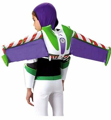 £4.75 • Buy Buzz Lightyear Backpack Boy Child Disney Toy Story Wings Jet Pack Costume - Fast