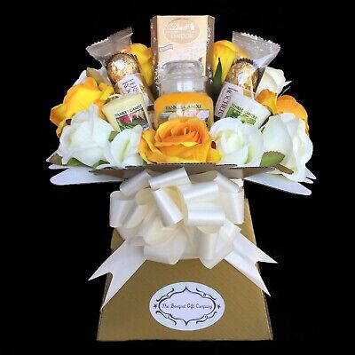 Yankee Candle And Chocolate Handmade Gift Bouquet • 32.99£