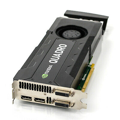 $ CDN287.99 • Buy HP Nvidia Quadro K5000 4GB GDDR5 PCIe X16 Dual DP DVI Graphics Card 701980-001