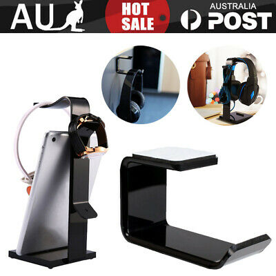 AU10.25 • Buy DJ Gamer Gaming Headphone Stand Headset Hanger Bracket Holder Rack AU
