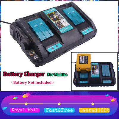Replace For Makita DC18RD Li-ion LXT 7.2-18v Dual Twin Port Fast Battery Charger • 25.99£