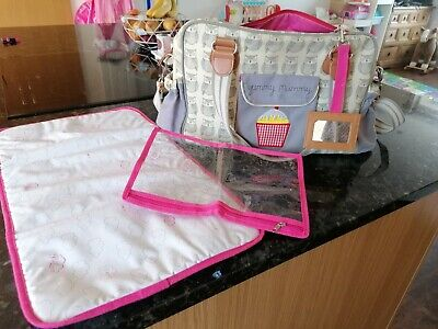 Pink Lining Yummy Mummy Baby Changing Bag Wise Owl - Used But Good Condition • 5£