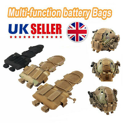 Tactical Pouch MK2 Battery Case For Camo Hunting Airsoft Helmet Battery Bags AE • 7.38£
