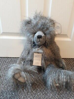 Silver Tag Bears Collection 5-Alexander Bear 20Inch Plush Jointed- Light Grey • 49.90£