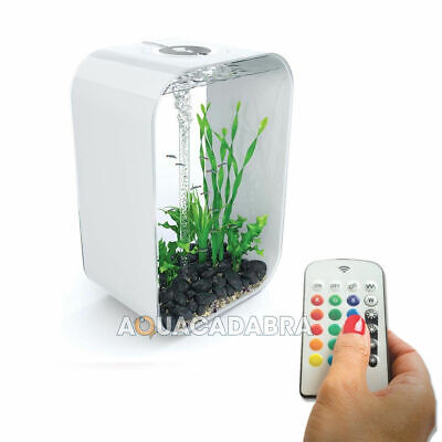 @ Oase BiOrb Life 60L MCR Aquarium White Fish Tank With Remote Lighting • 259.99£