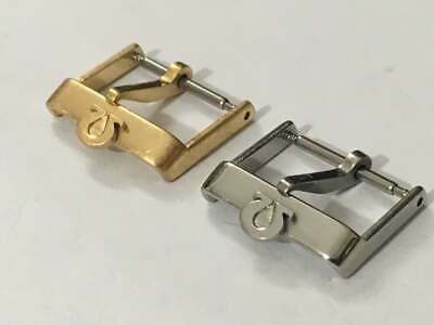 Vintage Omega 16mm/18mm Watch Strap Buckles-2 X Colors,used,clean.rare • 24.99£