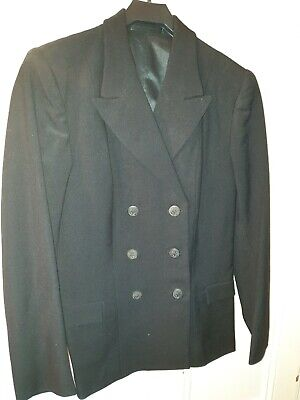 Genuine Vintage Wrns Womens Navy Uniform 1966--blazer & Skirt--in Excellent Cond • 59.99£