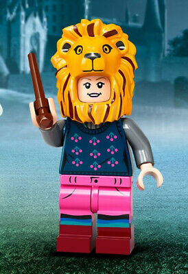 Luna Lovegood With A Lion Hat Harry Potter Lego Minifigures 71028 New Free Post • 3.90£