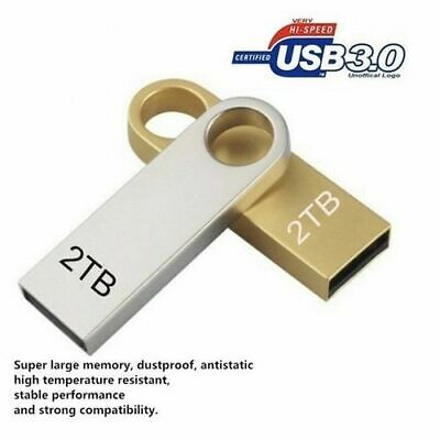 $ CDN10.53 • Buy New USB 3.0 Flash Drives Metal USB Flash Drives 2TB Pen Drive