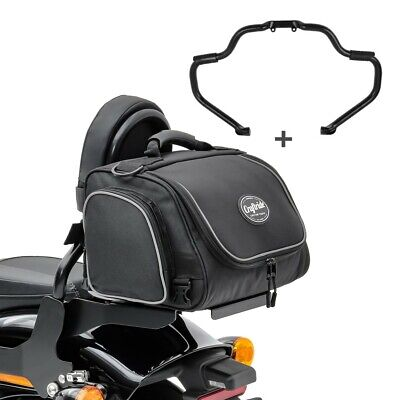 Set Crash Bar + Rear Bag For Indian Roadmaster 15-21 STM7 • 282.37£