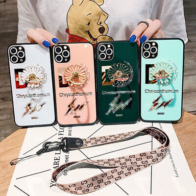 360 Rotating Ring Holder Phone Case & Lanyard For IPhone 11Pro 11 Xs XR 8Plus • 5.43£