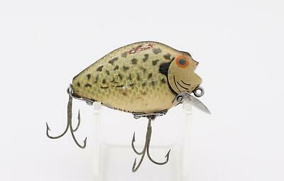 $ CDN34.67 • Buy Vintage Tackle Heddon Wood 740 Punkinseed Old Estate Find Collectible Bass Lure