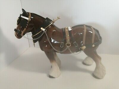 LARGE Beautiful MELBAWARE Shire Horse • 18£