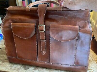 Real Leather Travel Bag • 30£