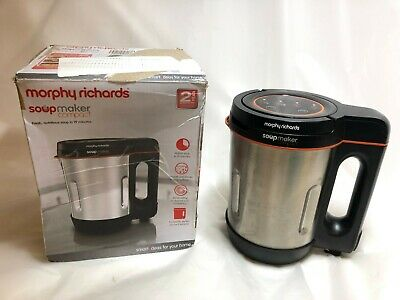 Morphy Richards 501021 900W Compact Soup Maker - Stainless Steel • 27.99£