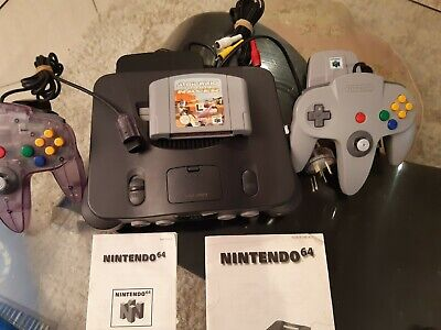 AU230 • Buy Nintendo 64 Console With Starwars Game And 2 Remotes