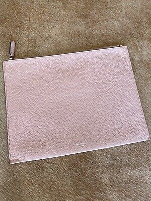 AU9.95 • Buy Oroton Leather Pouch Clutch Baby Pink