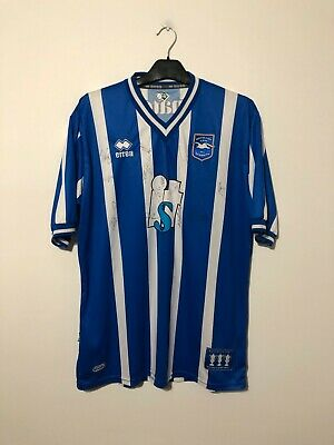 SIGNED Brighton And Hove Albion Home Football Shirt 2010/11 XXL 2XL • 64.95£