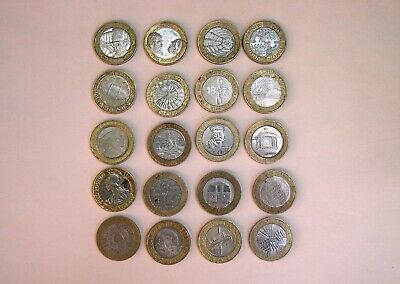 2 Two Pound Coins X20 Job Lot. All Different • 48£