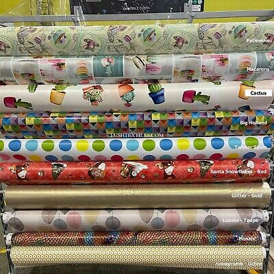 UK Printed PVC Oilcloth Plastic Fabric Vinyl  PVC Dining Table Protector Cover • 13.98£