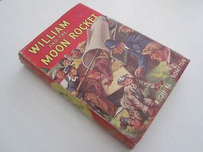 William And The Moon Rocket : Richmal Crompton (1959) VGC • 9.99£