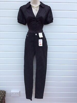 Jeans,trousers,skinny Fit,rockabilly,50's,60's,vintage Style,size 10 R,nwts • 6.99£