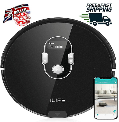 View Details ILife A7 Robot Vacuum Cleaner Carpet And Hard Floor Smart APP Remote Control  • 199.99£