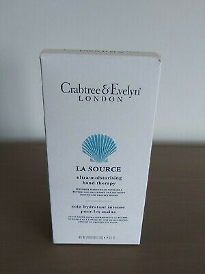 Crabtree & Evelyn La Source Hand Therapy Hand Cream 100g Boxed • 10£