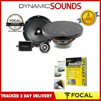£89.95 • Buy FOCAL RSE-165 -AUDITOR 16.5cm 6.5  2 Way Component Car Speakers 200W Total Power