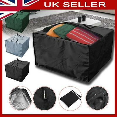 Garden Furniture Cushion Storage Bag Christmas Tree Cover Zip Square Waterproof • 12.39£