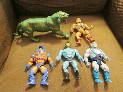 $29.99 • Buy Lot Of 5 Vintage 1980s Mattel Masters Of The Universe Action Figure He-Man