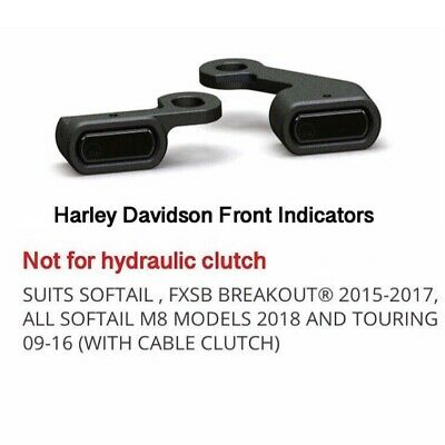 AU199 • Buy Harley INDICATORS Suit Softail- FXSB Breakout 2015-2017, M8, Touring 09-16, FXDR