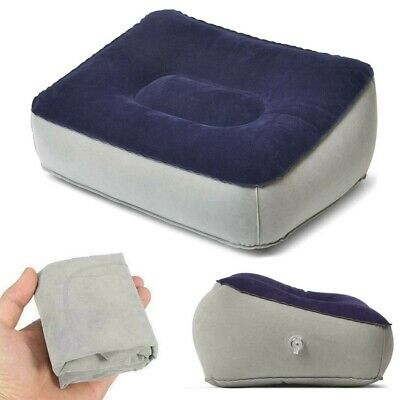 AU8.56 • Buy 🥇Inflatable Foot Rest Travel Air Pillow Cushion Office Leg Up Footrest Relax