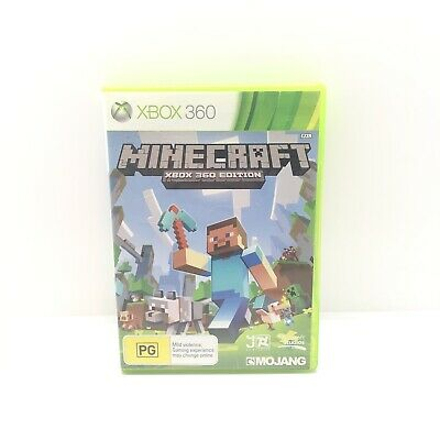 AU33 • Buy Minecraft Xbox 360 Edition Microsoft Xbox 360 Pal Game Aus Seller Free Postage