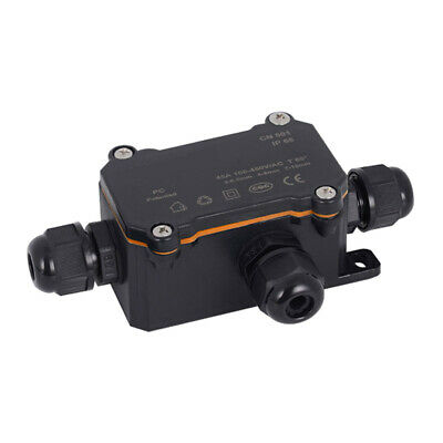 Waterproof Junction Box Electrical Cable Connector Outdoor IP68 Underground# • 3.88£