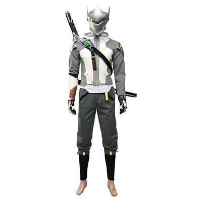$ CDN149.48 • Buy Overwatch 2 OW Shimada Genji Cosplay Hoodie Trousers Halloween Outfit Full Set