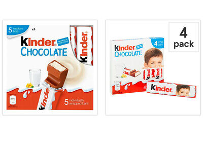 Kinder Chocolate Bars , Various , Individually Wrapped - Great For Stockings! • 4.99£