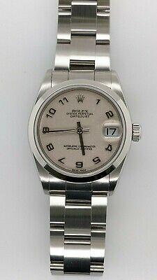 $ CDN5226.60 • Buy Rolex Datejust 78240 Stainless Steel Automatic Watch Arabic Dial - 31mm