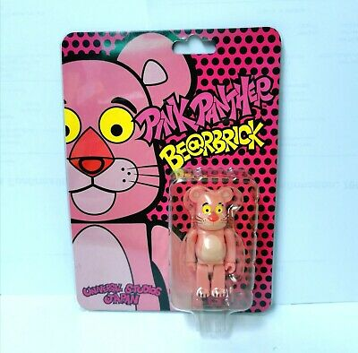 $71 • Buy BE@RBRICK UNIVERSAL STUDIOS JAPAN PINK PANTHER 100% Bearbrick 2009 Medicom NEW!