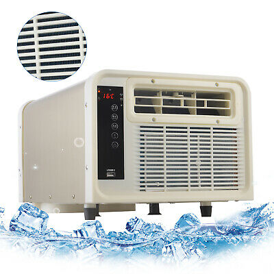 AU259 • Buy 900W Window Air Conditioner Reverse Cycle Portable Wall Box Cooler Heater Heat