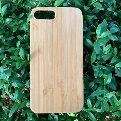 Apple Real Natural Wooden Case IPhone X XR XS MAX 6 8 7 11 Shockproof Wood Cover • 6.99£
