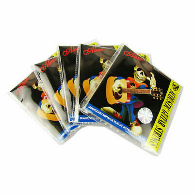 $ CDN19.99 • Buy Alice 5 Sets Acoustic Guitar Strings 6-String Steel & Coated Copper Alloy Wound