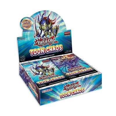 YuGiOh! Toon Chaos UNL Edition Box X24 Booster Packs :: • 60.39£