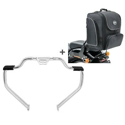 Set Crash Bar + Tail Bag TM4 For Harley Softail Standard 2020 STM30 • 274.30£