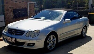 AU7600 • Buy Mercedes CLK500 Avantgarde Convertible, Silver, 6cly, 7speed Auto, ONLY 68 MADE