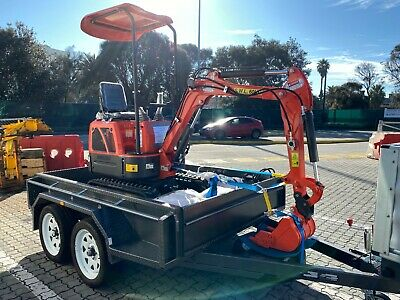 AU14800 • Buy Mini Excavator (Rhinoceros) And Trailer Package