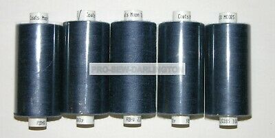 £6.99 • Buy 5 X DENIM BLUE MOON POLYESTER SEWING THREAD COTTON 120s ( M085 )