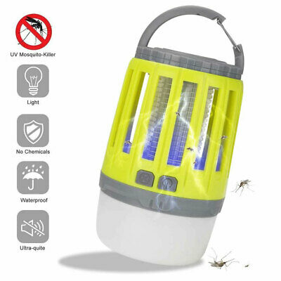 £14.49 • Buy Electric Insect Killer UV Light Lamp Mosquito Fly Bug Zapper Catcher Trap Tent