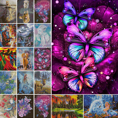 AU15.49 • Buy 5D Diamond Butterfly Painting Full Embroidery Cross Crafts Stitch Art Decor DIY✅
