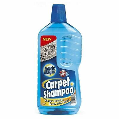 1L(=80L) Carpet Shampoo Stain Odour Remover Upholstery Cleaner Cleaning Solution • 7.99£